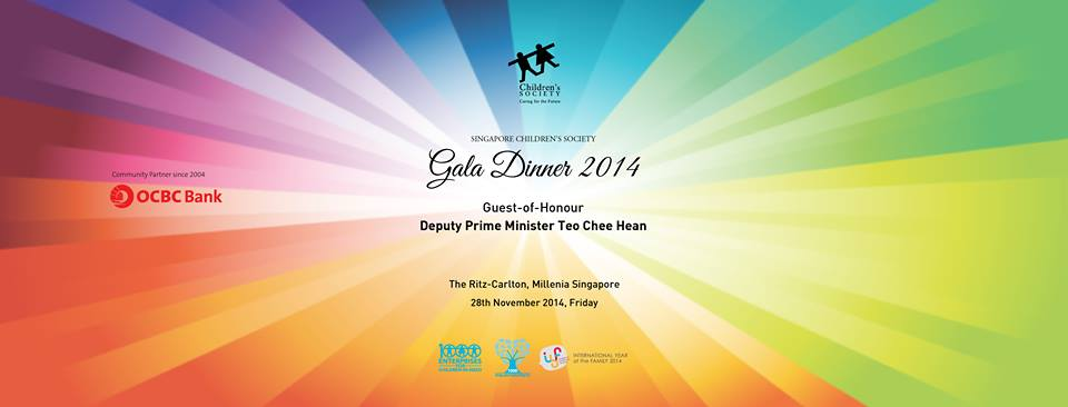 Singapore Children Society Charity Gala Dinner 2014'