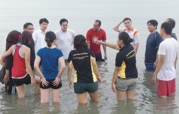 Beach Team Building Dynamite Productions Conceptualization Of
